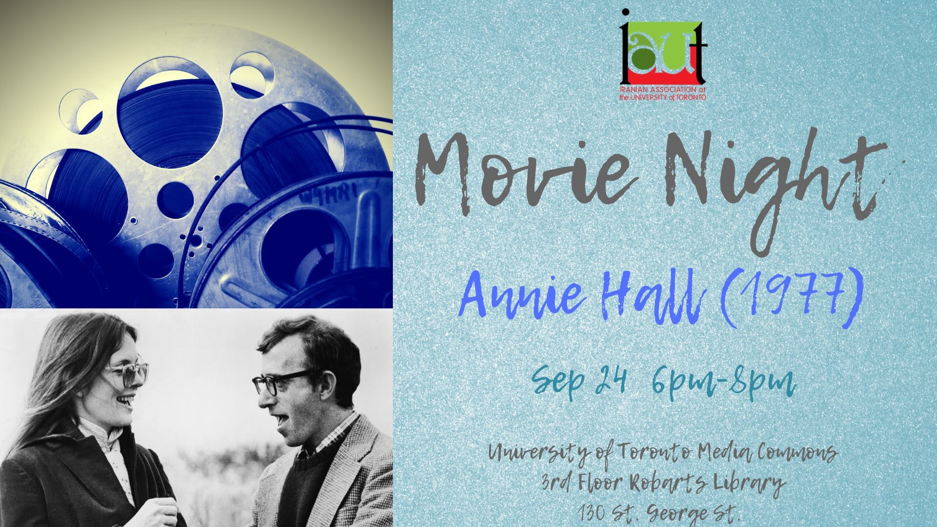 IAUT Movie Night: Annie Hall